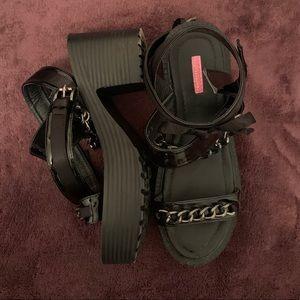 Forever 21 Chunky Platform Sandals